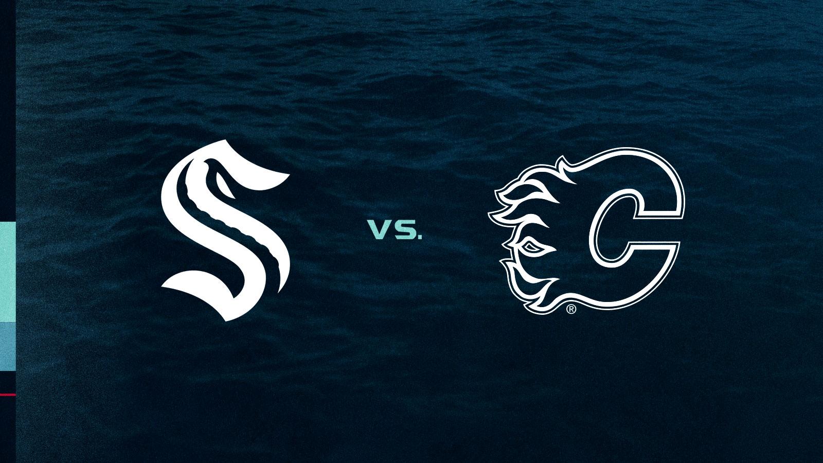 Seattle Kraken vs. Calgary Flames