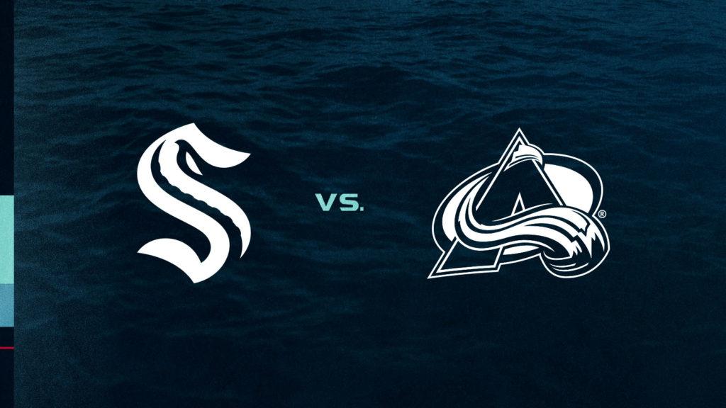 Seattle Kraken vs. Colorado Avalanche