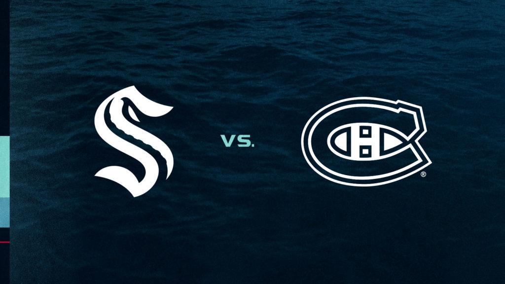 Seattle Kraken vs. Montréal Canadiens